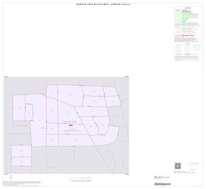 Primary view of object titled '2000 Census County Block Map: Upshur County, Inset E01'.
