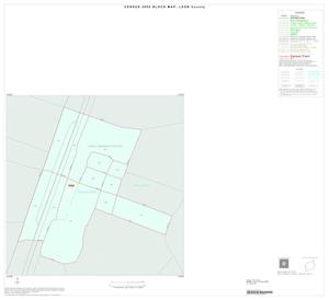 Primary view of object titled '2000 Census County Block Map: Leon County, Inset E01'.