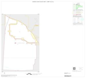 Primary view of object titled '2000 Census County Block Map: Camp County, Inset A01'.
