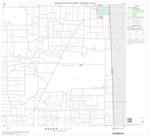 Primary view of object titled '2000 Census County Block Map: Cochran County, Block 9'.