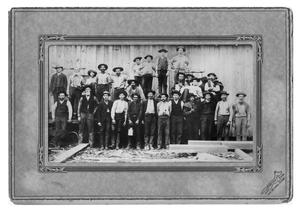 [Employees of T. Bancroft and Sons Shingle Mill]