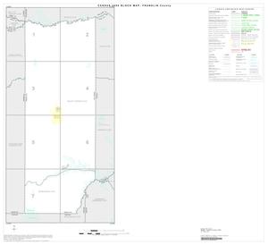 Primary view of object titled '2000 Census County Block Map: Franklin County, Index'.