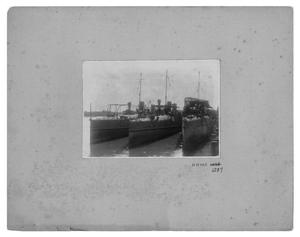 Primary view of object titled '[Three Ships]'.