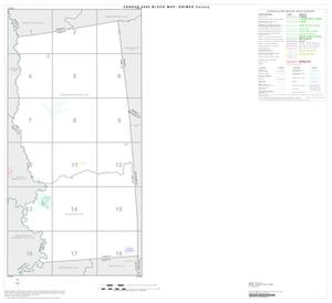 Primary view of object titled '2000 Census County Block Map: Grimes County, Index'.
