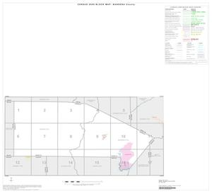 Primary view of object titled '2000 Census County Block Map: Bandera County, Index'.
