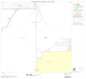 Primary view of object titled '2000 Census County Block Map: El Paso County, Block 31'.
