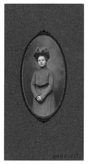 Primary view of object titled '[Annie Bancroft at Randolph Macon College]'.