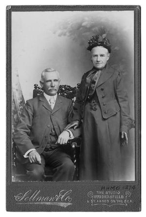 Primary view of object titled '[Mrs. Elizabeth Bancroft and Son Arthur]'.