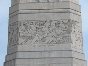 Primary view of object titled 'Frieze of San Jacinto Monument, San Jacinto Advance'.