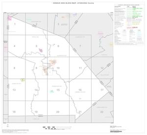 Primary view of object titled '2000 Census County Block Map: Atascosa County, Index'.