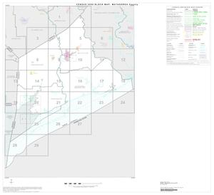 Primary view of object titled '2000 Census County Block Map: Matagorda County, Index'.