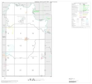 Primary view of object titled '2000 Census County Block Map: Clay County, Index'.