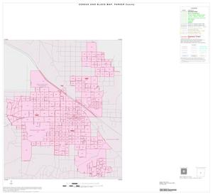 Primary view of object titled '2000 Census County Block Map: Parker County, Inset C01'.
