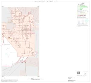 Primary view of object titled '2000 Census County Block Map: Upshur County, Inset C02'.