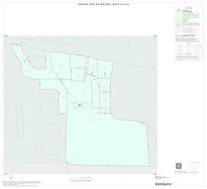 Primary view of object titled '2000 Census County Block Map: Hunt County, Inset G01'.