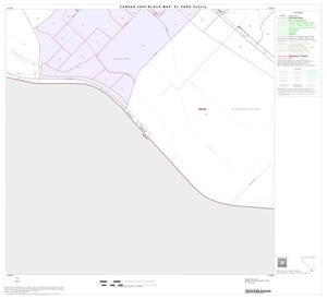 Primary view of object titled '2000 Census County Block Map: El Paso County, Block 85'.