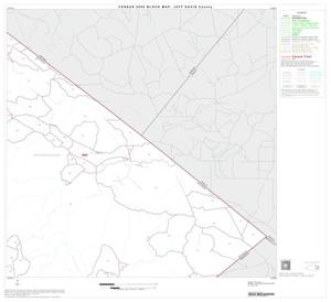 Primary view of object titled '2000 Census County Block Map: Jeff Davis County, Block 8'.