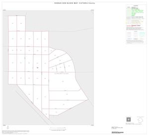 Primary view of object titled '2000 Census County Block Map: Victoria County, Inset E01'.