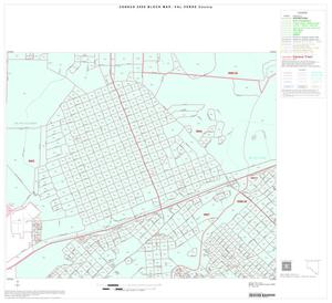 Primary view of object titled '2000 Census County Block Map: Val Verde County, Inset C08'.