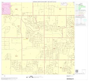 Primary view of object titled '2000 Census County Block Map: Dallas County, Block 84'.