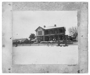 Primary view of object titled 'Thompson Home in 1895'.