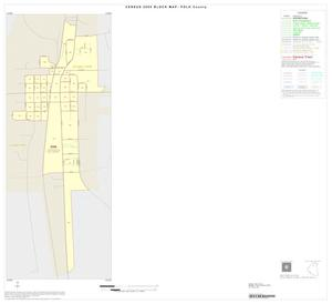 Primary view of object titled '2000 Census County Block Map: Polk County, Inset A01'.