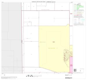 Primary view of object titled '2000 Census County Block Map: Lubbock County, Block 22'.