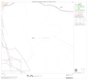 Primary view of object titled '2000 Census County Block Map: El Paso County, Block 43'.