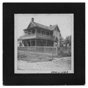Primary view of object titled 'Home of George W. Bancroft'.
