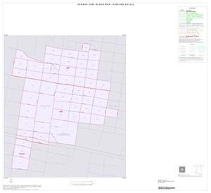 Primary view of object titled '2000 Census County Block Map: Hidalgo County, Inset K01'.