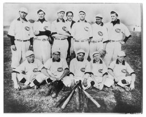 Primary view of object titled 'Carl Bancroft's Baseball Team'.