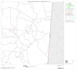 Primary view of object titled '2000 Census County Block Map: Culberson County, Block 9'.