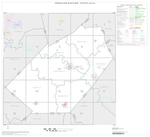 Primary view of object titled '2000 Census County Block Map: Fayette County, Index'.