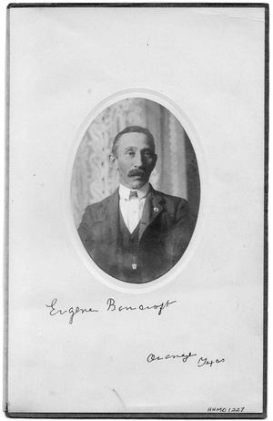 Primary view of object titled 'Portrait of Eugene Bancroft'.