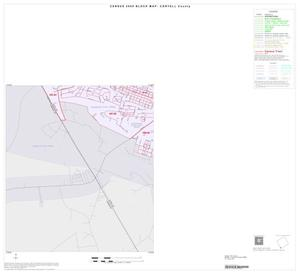 Primary view of object titled '2000 Census County Block Map: Coryell County, Inset D03'.