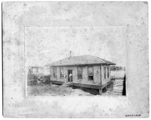 Primary view of object titled 'Bancroft Lumber Company Office - 1884'.
