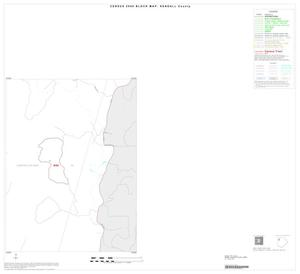 Primary view of object titled '2000 Census County Block Map: Kendall County, Inset A04'.