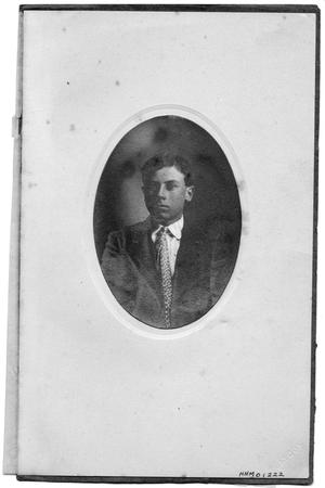 Primary view of object titled 'Portrait of Carl Bancroft'.