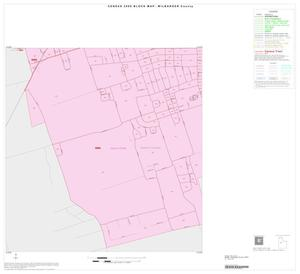 Primary view of object titled '2000 Census County Block Map: Wilbarger County, Inset A04'.