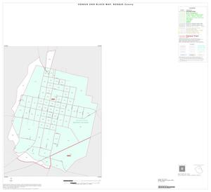 Primary view of object titled '2000 Census County Block Map: Bosque County, Inset B01'.