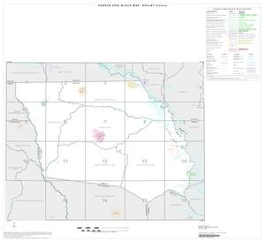 Primary view of object titled '2000 Census County Block Map: Shelby County, Index'.