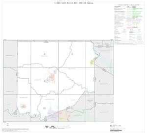 Primary view of object titled '2000 Census County Block Map: Upshur County, Index'.