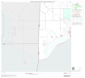 Primary view of object titled '2000 Census County Block Map: Matagorda County, Block 19'.
