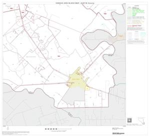 Primary view of object titled '2000 Census County Block Map: Austin County, Block 13'.