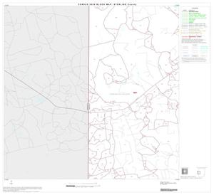 Primary view of object titled '2000 Census County Block Map: Sterling County, Block 4'.