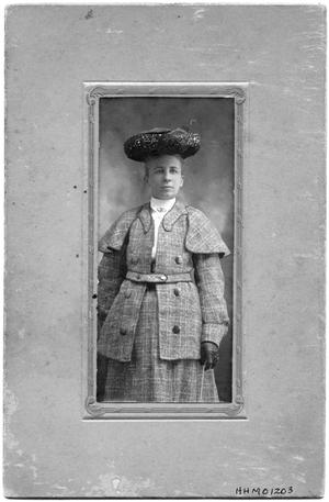 Primary view of object titled 'Portrait of Mrs. E.W Bancroft'.