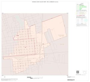 Primary view of object titled '2000 Census County Block Map: Williamson County, Inset H01'.
