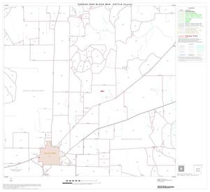 Primary view of object titled '2000 Census County Block Map: Cottle County, Block 5'.
