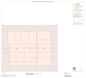 Primary view of object titled '2000 Census County Block Map: Bexar County, Inset K01'.