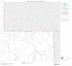 Primary view of object titled '2000 Census County Block Map: Kimble County, Block 8'.